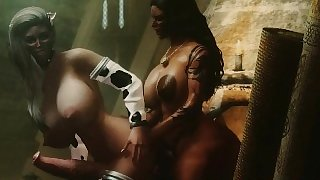 Brown Sugar - A Skyrim Futa Machinima